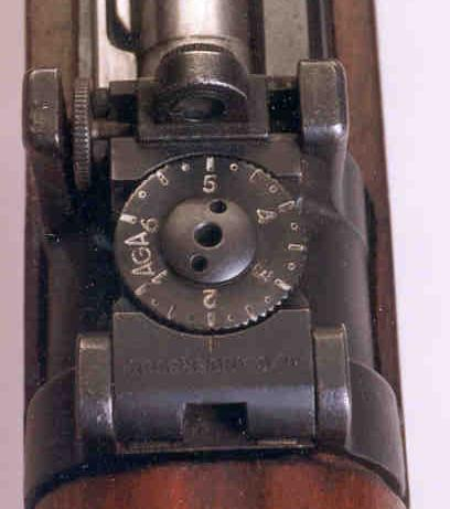 1896 Swedish Mauser, Target Sights, Dipoter Sights