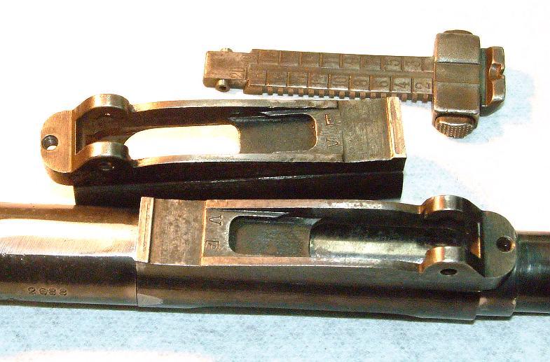 Long Eye Relief Scope Mounts, Gewehr 1898, 1908 Brazilian