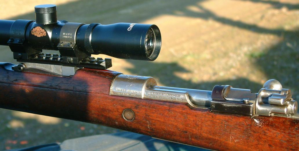 Long Eye Relief Scope Mounts, Finn m/39 Mosin-Nagant, Gewehr 1898