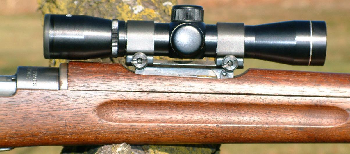 Long Eye Relief Scope Mounts, Finn m/39 Mosin-Nagant, Gewehr
